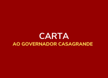 Carta ao Governador Casagrande